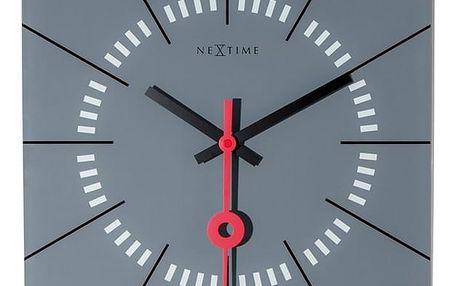 Nextime Stazione 8636gs nástěnné hodiny