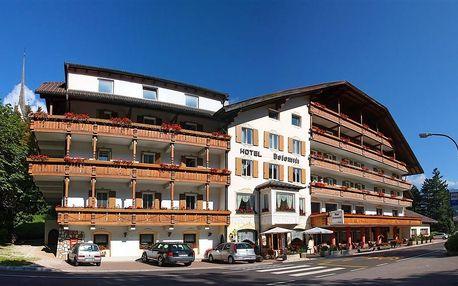 Itálie - Val di Fassa e Carezza na 6 až 8 dní, polopenze s dopravou vlastní