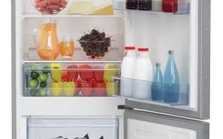 Kombinace chladničky s mrazničkou Beko RCSA 300 K30XP titanium
