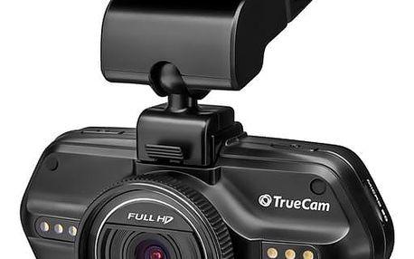 Autokamera TrueCam A5S černá + dárek Tričko LAMAX Joy For Life (L), pro Sounder/Elite/X7.1/X8.1/X10 černé/modré + DOPRAVA ZDARMA