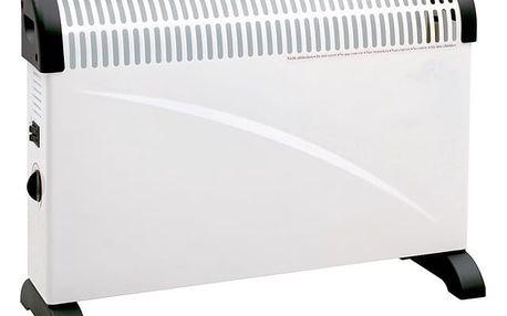 Teplovzdušný konvektor ELEM TCPM2000 bílý