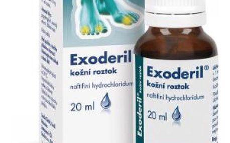 EXODERIL Roztok k zevnímu užití 1X20ML/200MG