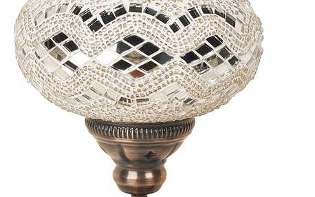 Skleněná ručně vyrobená lampa Dianthe, ⌀17cm