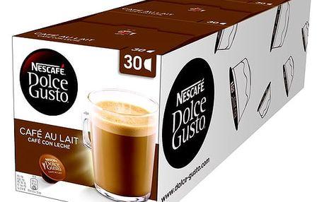 Set kapsle NESCAFÉ Cafe AuLait 30 ks k Dolce Gusto 3 balení