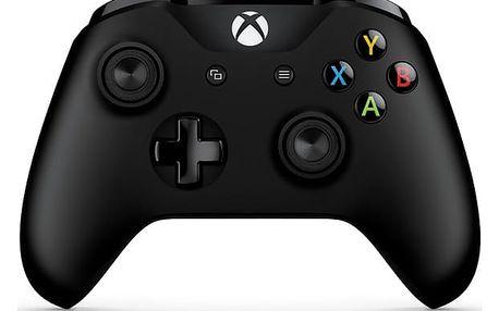Gamepad Microsoft Xbox One S Wireless černý (6CL-00002)