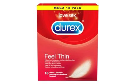 DUREX Prezervativ Feel Thin 18 kusů