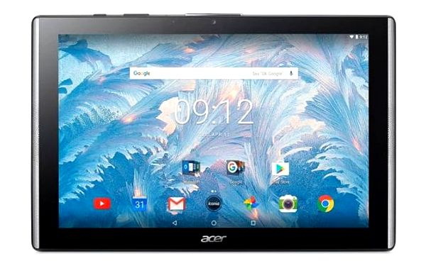 """Acer Iconia One 10 B3-A40 MTK MT8167/10"""" IPS Touch 1280x800/2GB/eMMC 16GB/BT/Android 7.0/Black"""