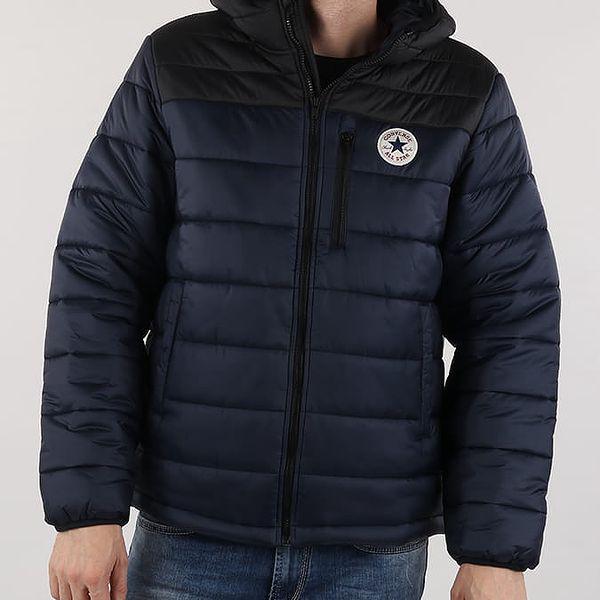 Bunda Converse Core Poly Fill Jacket Modrá
