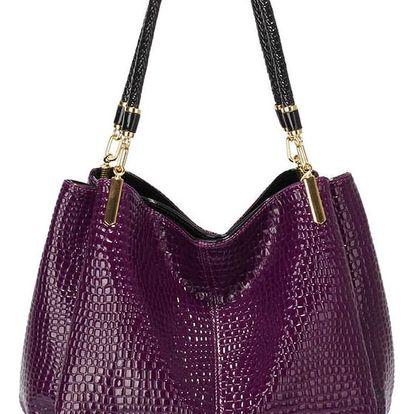Fialová kabelka L&S Bags Reign