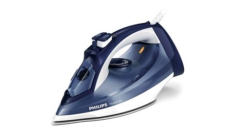Žehlička Philips PowerLife GC2996/20 modrá