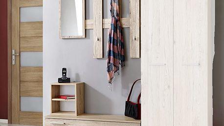 Předsíňová stěna RENO ( věšák, botník, zrcadlo )