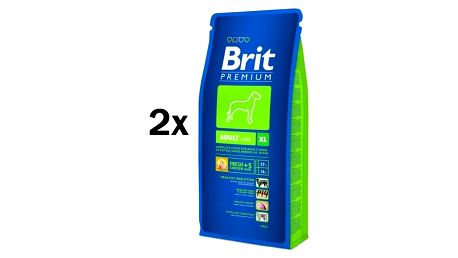 Brit Premium Dog Adult XL 2 x 15 kg