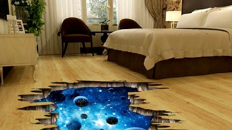 Vesmírná 3D samolepka