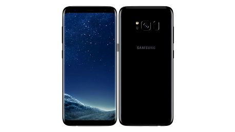 Mobilní telefon Samsung Galaxy S8 - Midnight Black + dárek (SM-G950FZKAETL)
