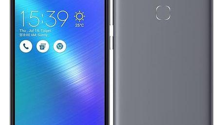 Mobilní telefon Asus ZenFone 3 Max ZC553KL (ZC553KL-4H033WW) šedý Software F-Secure SAFE, 3 zařízení / 6 měsíců + Sluchátka Asus FoneMate s pouzdrem bílý v hodnotě 979 Kč + DOPRAVA ZDARMA