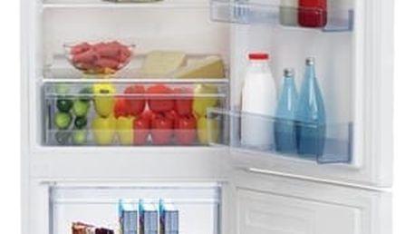 Kombinace chladničky s mrazničkou Beko RCSA 270 K20W bílá