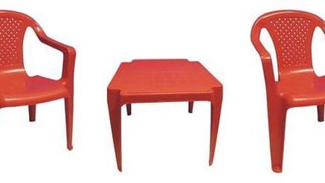 IPAE dětský - plast/červený