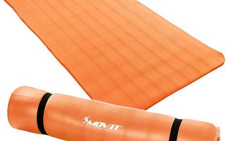 MOVIT 32911 Podložka na jógu 190 x 100 x 1,5 cm oranžová