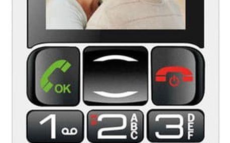 Mobilní telefon MaxCom Comfort MM462 Single Sim černý (MM462BKSS)