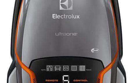 Vysavač podlahový Electrolux UltraOne EUO99TM šedý