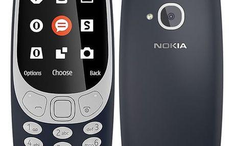 Mobilní telefon Nokia 3310 (2017) Single SIM modrý (A00028098)