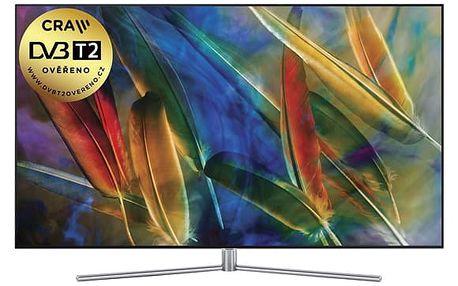 Televize Samsung QE55Q7F stříbrná