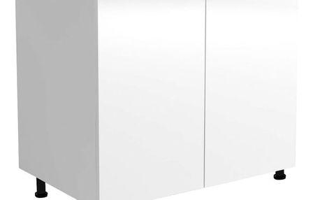 Dolní skříňka dvoudvéřová Vento D80-82 bílá