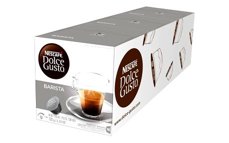Kapsle pro espressa Nescafé Dolce Gusto Espresso Barista 3 balení