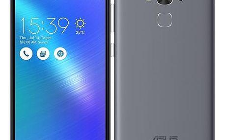 Mobilní telefon Asus ZenFone 3 Max ZC553KL šedý + dárek (ZC553KL-4H033WW)