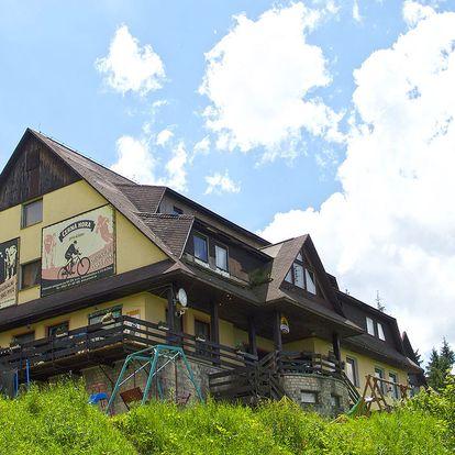 Hotel Fran v Beskydech s bazénem a saunou, dítě ubytování zdarma