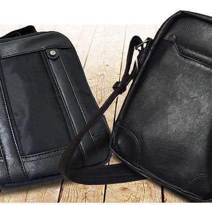 Skvělý dárek pro muže: Elegantní tašky z ekokůže