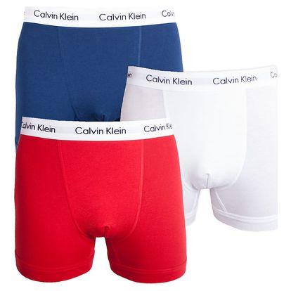3PACK pánské boxerky Calvin Klein tricolor