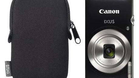 Digitální fotoaparát Canon IXUS 185 + orig.pouzdro černý (1803C010)