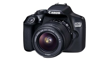 Digitální fotoaparát Canon EOS 1300D + 18-55 IS II černý (1160C025)