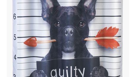 Wenko Sprchový závěs GUILTY DOG, textilní, 180x200 cm