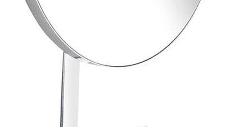 Wenko Kosmetické zrcátko, TurboLoc, antifog, nerezová ocel, zvýšení o 100%
