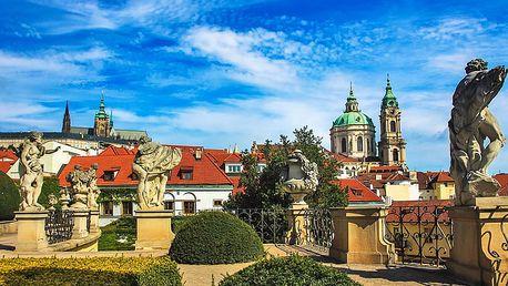 Tajemná Praha v hotelu s rudolfinskou atmosférou se snídaní i poukazem na večeři