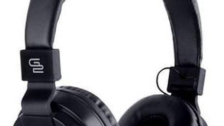 Sluchátka GoGEN HBTM 21B (HBTM 21B ) černá + Doprava zdarma