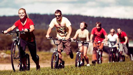 5 hodin v Pošumaví na sportovní koloběžce