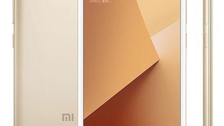 Mobilní telefon Xiaomi Redmi Note 5A 16 GB Dual SIM CZ LTE (PH3621) zlatý Software F-Secure SAFE, 3 zařízení / 6 měsíců v hodnotě 979 Kč