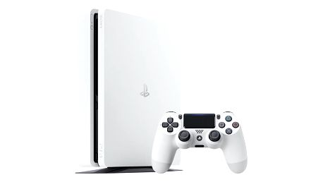 Herní konzole Sony PlayStation 4 SLIM 500GB bílá (PS719816164)