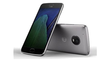 Motorola Moto G Plus 5.generace Dual SIM (SM4470AC3N7 ) šedý