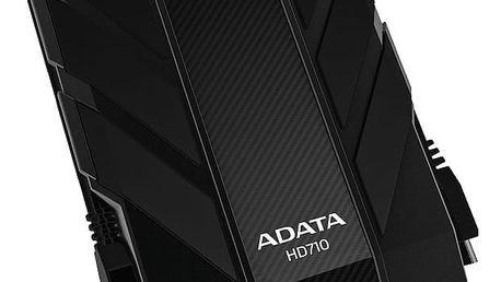 """Externí pevný disk 2,5"""" ADATA DashDrive Durable HD710 1TB černý (AHD710-1TU3-CBK)"""