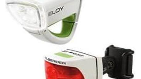 Sigma Eloy + Cuberider bílá