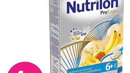 4x NUTRILON Profutura kaše meruňka banán (225g)