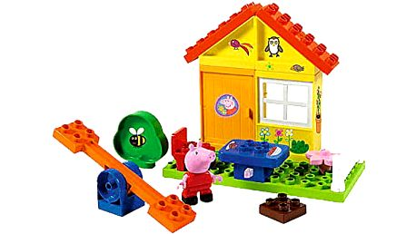 BIG PlayBig Bloxx Peppa Pig zahradní domek