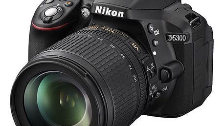 Digitální fotoaparát Nikon D5300 + 18-105 AF-S VR černý