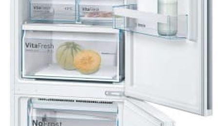 Kombinace chladničky s mrazničkou Bosch KGN39VW45 bílá