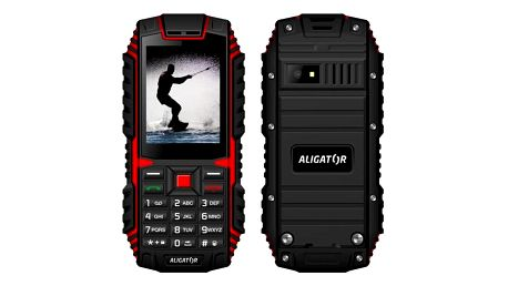 Aligator R12 eXtremo (AR12BR) černý/červený