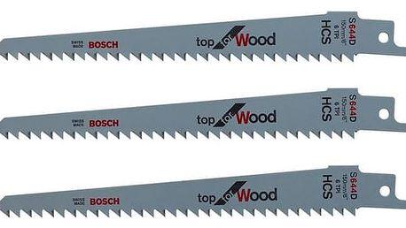 Příslušenství Bosch pro KEO, Náhradní čepel - 3ks dřevo